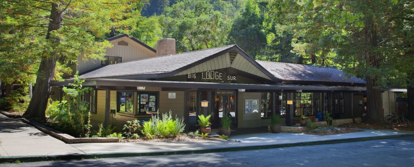 Exterior of Big Sur Lodge
