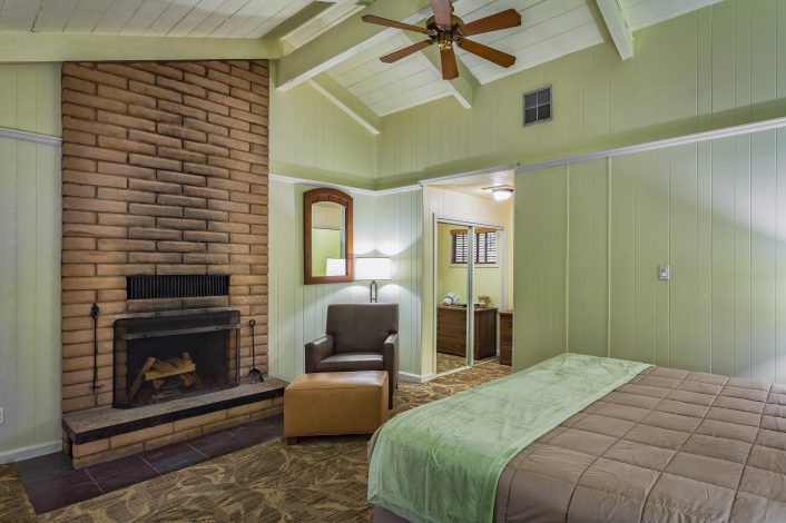 Fireplace Cottage | Room Features | Accommodations | Big Sur Lodge