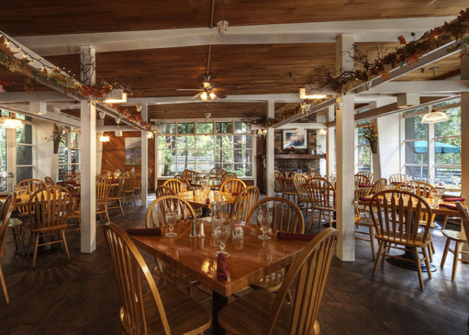 photo of the Big Sur Lodge restaurant