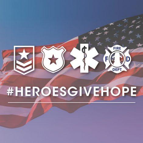 #HerosGiveHope promo